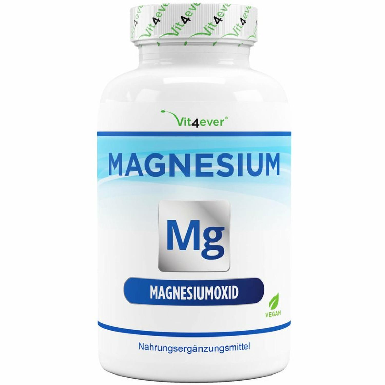 Magnesium - 365 Kapseln - 665 mg je Kapsel