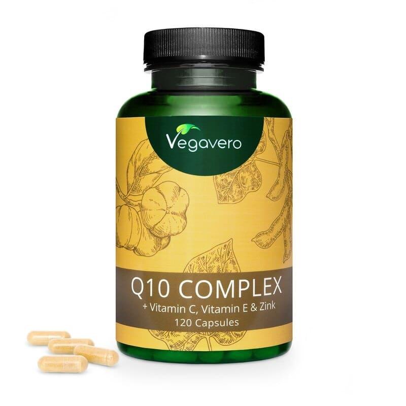 Q-10 Complex mit Vitamin C, Vitamin E und Zink